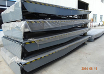 2 main cylinder big size Hydraulic dock leveler